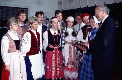 OB Schmalstieg mit Delegation